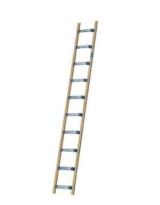 Лестница для крыши из алюминия и дерева Krause STABILO 18 перекладин Купить в магазине TAYGER