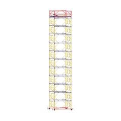 Вышка тура строительная ВСП 250-1,6 настил 1,6х1,6 м., высота 15,0 м. Купить в магазине TAYGER.