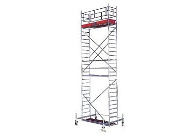 Передвижные подмости 2,5 х 1,5 м. Krause STABILO 50-2 Раб. высота 7,4 м Купить в магазине TAYGER
