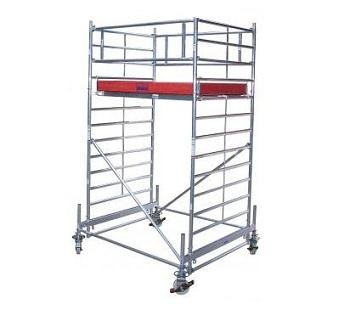 Передвижные подмости 2,5 х 1,5 м. Krause STABILO 500-2,5 Раб. высота 4,4 м Купить в магазине TAYGER