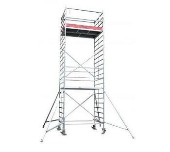 Передвижные подмости 2,0 х 0,75 м. Krause STABILO 1000-2 Раб. высота 6,3 м Купить в магазине TAYGER
