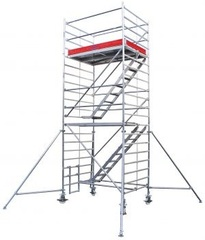 Передвижные подмости Krause STABILO 5500-2 с трапом. раб. высота 12,5 м Купить в магазине TAYGER