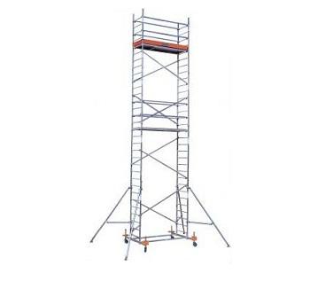 Передвижные подмости Krause Monto PROTEC рабочая высота 8,3 м Купить в магазине TAYGER