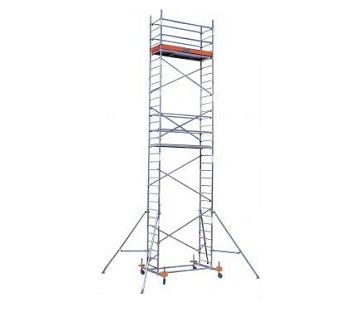 Передвижные подмости Krause Monto PROTEC XXL шир. 1,35 м, раб. высота 9,3 м Купить в магазине TAYGER