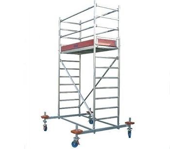 Передвижные подмости 2,5 х 0,75 м. Krause STABILO 10-2 Раб. высота 8,4 м Купить в магазине TAYGER