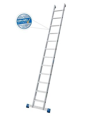 Лестница приставная Krause STABILO 15 ступенек, раб. высота 5,05 м Купить в магазине Tayger