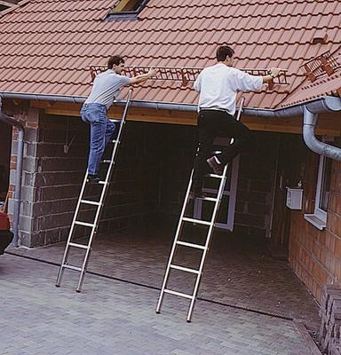 Выдвижная лестница Krause FABILO 2 х 18 перекладин Купить в магазине Tayger