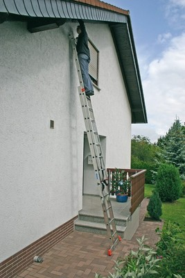 Универсальная лестница из двух частей Krause DUBILO 2 х 12 перекладин Купить в магазине Tayger