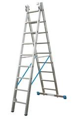 Универсальная лестница из двух частей Krause STABILO 2 х 9 перекладин Купить в магазине Tayger