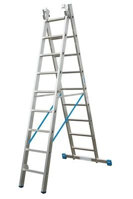 Универсальная лестница из двух частей Krause STABILO 2 х 12 перекладин Купить в магазине Tayger