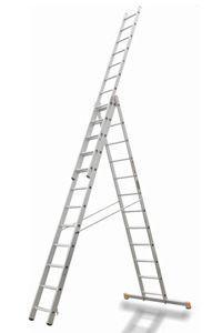 Лестница трехсекционная Эйфель Премьер 3х16И