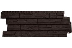 Фасадная панель Grand Line Сланец Стандарт коричневая