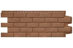 Фасадная панель Grand Line Состаренный кирпич Стандарт глина