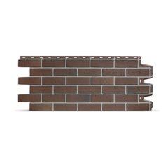 Фасадные панели (Цокольный Сайдинг) Docke (Деке) Berg (Кирпич) Коричневый