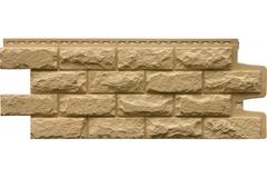 Фасадная панель Grand Line Колотый камень Стандарт песочная