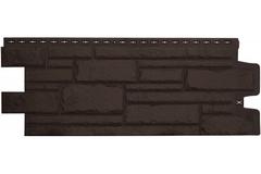 Фасадная панель Grand Line Камелот Стандарт коричневая