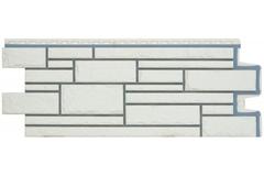 Фасадная панель Grand Line Камелот Премиум пломбирная