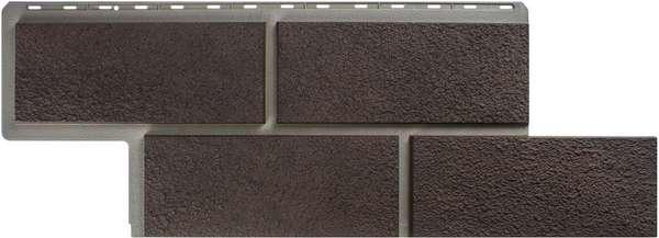 Фасадная Панель камень Неаполитанский (коричневый)