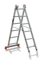Лестница трехсекционная Эйфель Премьер 3х6