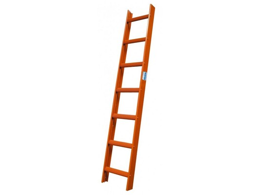 Стационарная лестница для крыши Krause STABILO красн. 10 ступеней  Купить в магазине TAYGER