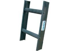 Стационарная лестница для крыши Krause STABILO чёрн. 10 ступеней Купить в магазине TAYGER