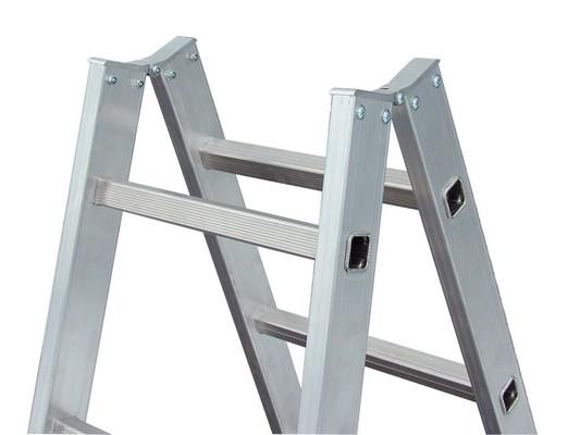Двусторонняя лестница с перекладинами Krause Stabilo, 2 х 14 перекладин Купить в магазине Tayger
