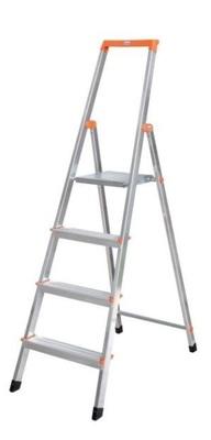Свободностоящая стремянка Krause SOLIDY 5 ступенек, раб. высота 3,05 м Купить в магазине Tayger