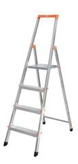 Свободностоящая стремянка Krause SOLIDY 8 ступенек, раб. высота 3,71 м Купить в магазине Tayger