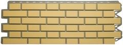 Фасадная Панель кирпич клинкерный (жёлтый)