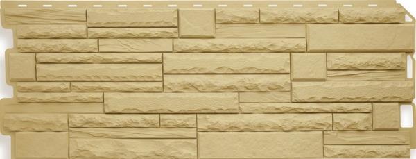 Фасадная Панель камень скалистый (Кавказ)