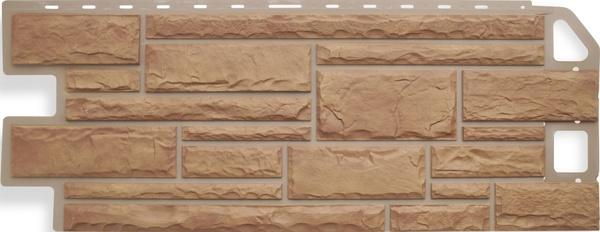 Фасадная Панель камень (бежевый)