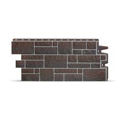 Фасадные панели (Цокольный Сайдинг) Docke (Деке) Burg (Камень) Земляной