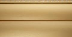 Сайдинг Виниловый Альта-Профиль Блок-Хаус, двухпереломный, Золотистый