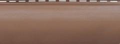 Сайдинг Акриловый Альта-Профиль Блок-Хаус, однопереломный, Красно-коричневый