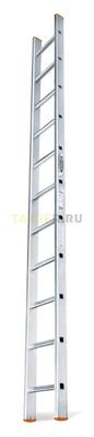 Алюминиевая приставная лестница 11 ступеней Эйфель ПЛ 82-11 Классик