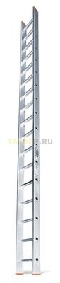 Алюминиевая приставная лестница 17 ступеней Эйфель ПЛ 82-17 Классик