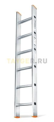 Алюминиевая приставная лестница 6 ступеней Эйфель ПЛ 82-6 Классик
