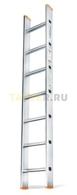 Алюминиевая приставная лестница 7 ступеней Эйфель ПЛ 82-7 Классик