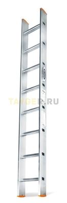 Алюминиевая приставная лестница 8 ступеней Эйфель ПЛ 82-8 Классик