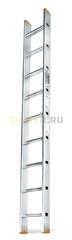 Алюминиевая приставная лестница 9 ступеней Эйфель ПЛ 82-9 Классик