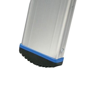 Двусторонняя стремянка Krause Stabilo 2 х 12 ступенек с роликами Купить в магазине Tayger