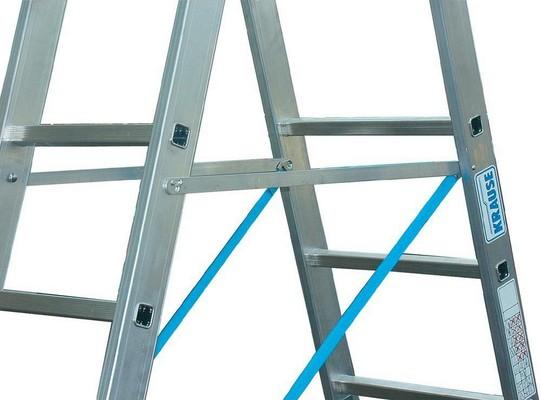 Универсальная лестница из трёх частей Krause STABILO 3 х 9 перекладин с доп. Функцией Купить в магазине Tayger