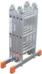 Шарнирная универсальная стремянка-трансформер Krause MULTIMATIC 4 х 3 Купить в магазине Tayger