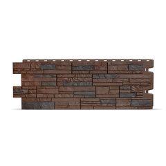 Фасадные панели (Цокольный Сайдинг) Docke (Деке) Stein (Камень) Темный Орех