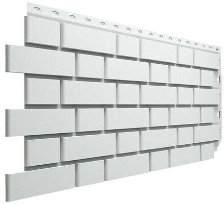 Фасадные панели (Цокольный Сайдинг) Docke (Деке) Flemish (Флемиш) Белый
