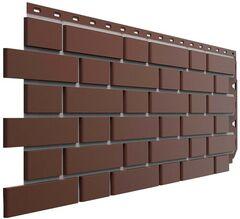 Фасадные панели (Цокольный Сайдинг) Docke (Деке) Flemish (Флемиш) Коричневый