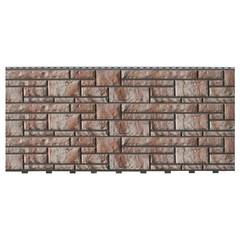 Фасадные панели (Цокольный Сайдинг) Доломит Доломит NEW Каппучино