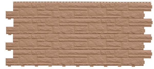 Фасадные панели (Цокольный Сайдинг) Доломит Доломит NEW Орех