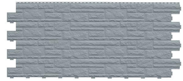 Фасадные панели (Цокольный Сайдинг) Доломит Доломит NEW Серо-голубой