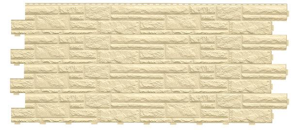 Фасадные панели (Цокольный Сайдинг) Доломит Доломит NEW Слоновая Кость